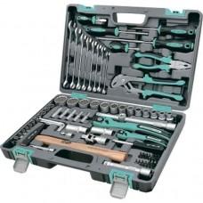 Набор инструментов 76 предметов 12 гранные головки / STELS 14116