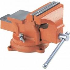 Тиски слесарные, 200 мм, поворотные, с наковальней/ SPARTA 186295