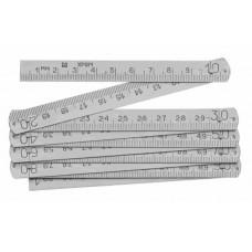 Метр складной, металлический 30564