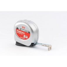 Рулетка Magnetic, 3 м х 16 мм, магнитный зацеп/ MATRIX 31010