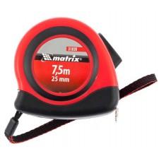 Рулетка Status autostop magnet, 7,5 м х 25 мм, двухкомпонентный корпус, зац
