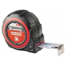 Рулетка Target, 3 м * 25, автоматическая фиксация, обрезиненный корпус