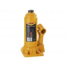 Домкрат гидравлический бутылочный, 5т, h подъема 195-380 мм/ SPARTA 50323