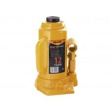 Домкрат Спарта гидравлический бутылочный, 12 т, h подъема 210-400 мм/50326