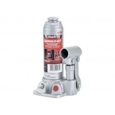 Гаражный домкрат MATRIX MASTER гидравлический бутылочный, 2 т, h подъема 181–345 мм