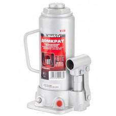Домкрат MATRIX MASTER гидравлический бутылочный, 10 т, h подъема 230–460 мм