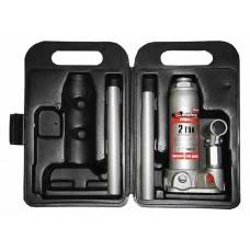 Домкраты бутылочные MASTER, 2 т, h 181-345 мм, в пласт. кейсе