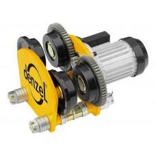 Электрокаретка для тельфера, 1т, 90Вт /DENZEL 520205
