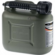 Канистра для ГСМ вертикальная, 10 л., пластиковая, усиленная /STELS 53126