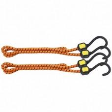 Резинки багажные, обрезиненные крюки, 2 шт, 1000мм /STELS 54363
