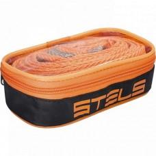 Трос буксировочный 7 тонн, 2 крюка, сумка на молнии / STELS  54382