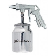 Пистолет пескоструйный с нижним бачком, пневматический/ MTX 57326