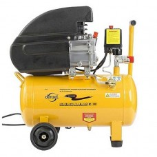 Компрессор пневматический, 1,5 кВт, 206 л/мин, 76 л/ DENZEL 58076