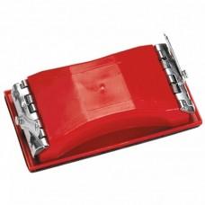 Брусок для шлифования, 160 х 85 мм, пластиковый с зажимами/ MATRIX 75820
