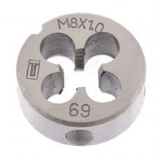 Плашка М8 х 1,0 мм/ СИБРТЕХ 77019