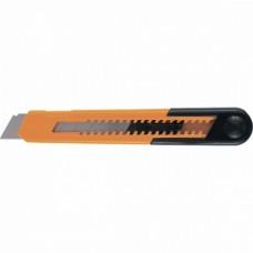 Нож, 18 мм, выдвижное лезвие, пластиковый усиленный корпус/Sparta 78907