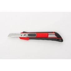 Нож, 9 мм выдвиж. лезвие QUICK BLADE мет. направл., двойная фикс., эргоном.