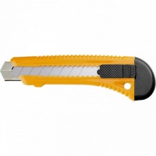 Нож,18 мм, выдвижное лезвие, металлическая направляющая/ SPARTA 78973