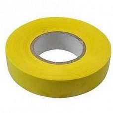 Изолента ПВХ, 15 мм х 10 м, 130 мкм, желтая /СИБРТЕХ 88790