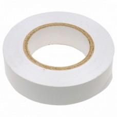 Изолента ПВХ, 15 мм х 10 м, 130 мкм, белая / СИБРТЕХ 88792