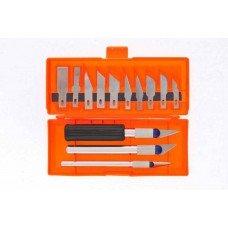 Набор резцов по дереву, пластмассовые рукоятки, 13 шт./ SPARTA 246165