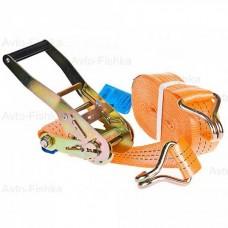 Ремень багажный с крюками, 0,05х12 м, с храповым механизмом STELS