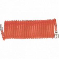 Полиуретановый спиральный шланг профессиональный BASF, 10 м, с быстросъемны