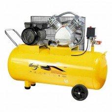 Компрессор DENZELвоздушный PC 2/100-370, 2,2 кВт, 370 л/мин, 100 л/58091