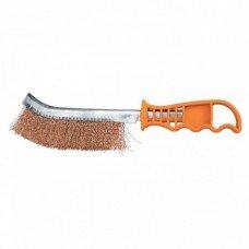 Щетка металлическая с пластмассовой ручкой/ SPARTA 748505