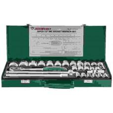 Набор головок торцевых 1/2DR 8-34 мм., с аксессуарами, 28 предметов