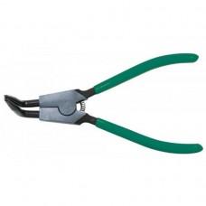 Щипцы для стопорных колец с удлиненными губками 216 мм. разжим загнутый