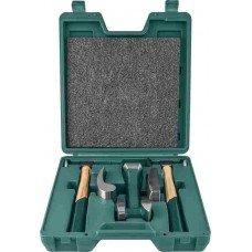 Набор правок и молотков для жестяных работ JW-AG010030A