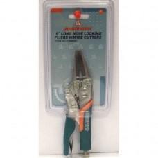 Ручные тиски струбцина, 6, с удлиненными губками и прорезиненными ручками