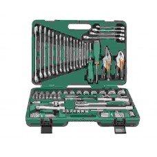 Универсальный набор торцевых головок, отверток, ключей JW-S04H52478S