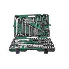 Универсальный набор инструмента 1/2 и 1/4 DR, 127 предметов JW-S04H524127S