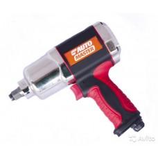 Пневмогайковерт 1/2 678 Nm, 7500 об/мин, красная резин. ручка AUTOMASTER/6