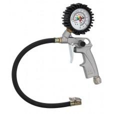 Пистолет для подкачки шин с манометром (длинная насадка) AUTOMASTER/20