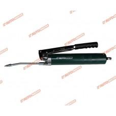 Шприц плунжерный AUTOMASTER/10 для смазок 500 мл с клапаном (зеленый)