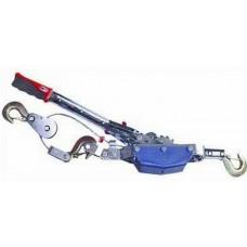 Лебедка ручная 4-т 3 крюка, трос 6ммх3,65м Jun Kaung/3 HP-141D