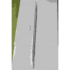 Лопатка монтажная L=850мм-остроконечная (крашеная)