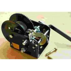 Лебедка ручная барабанная 1100 кг, трос 5ммх10м Jun Kaung/2 WC06-525A-2