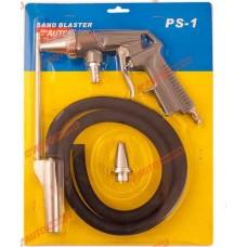 Пистолет пескоструйный со шлангом, набор, блистер AUTOMASTER/20 AMP-PS-1