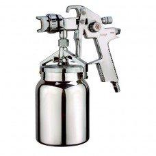 Краскопульт AUTOMASTER HVLP 1,4 мм, 70-230 мл/мин, 2,0-3,0 бар, нижний бачо