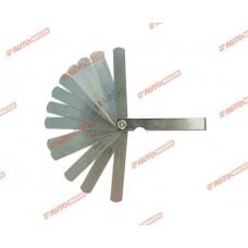 Набор щупов для измерения зазоров 15 шт. 0,05 - 0,63 мм AUTOMASTER