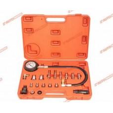 Компрессометр для дизельных двигателей (набор 19 пр.) в кейсе AUTOMASTER/10