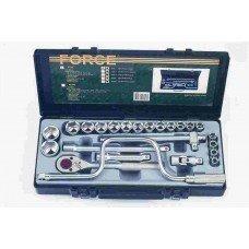 """Набор инструментов 1/2"""" 24 пр. 10-32мм 6-гр. FORCE F4245"""