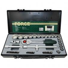 Набор инструментов 1/2 42 пр. универсальных 12-гр. 10-32мм в кейсе FORCE