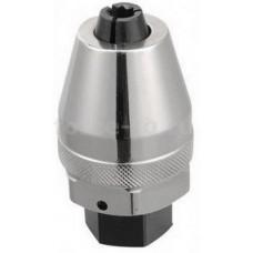Шпильковерт-экстрактор L=75мм ,с цанговым зажимом под вороток 1/2 FORCE